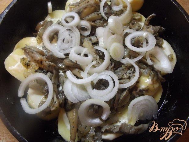 Запеченый картофель с вешанками