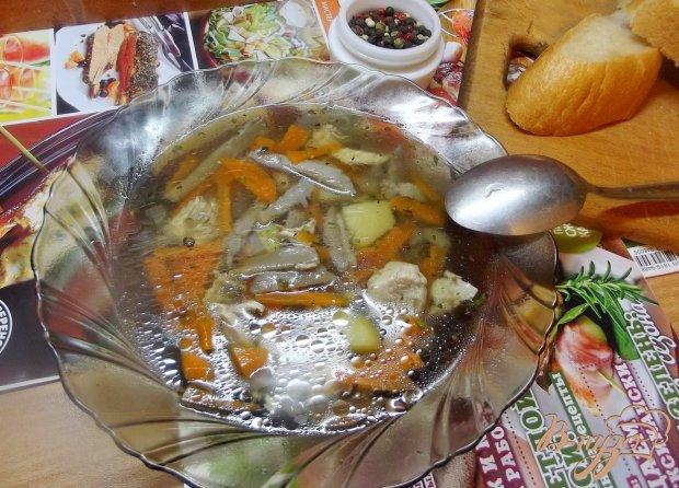 Суп с вешанками