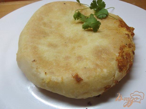 Печеный хачапури с овечьей брынзой