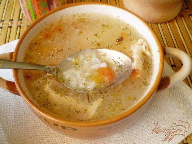 Суп рисовый без зажарки