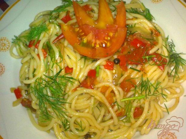 Спагетти с остринкой