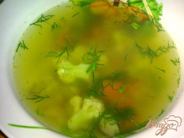 Куриный суп  с гречкой и грибами