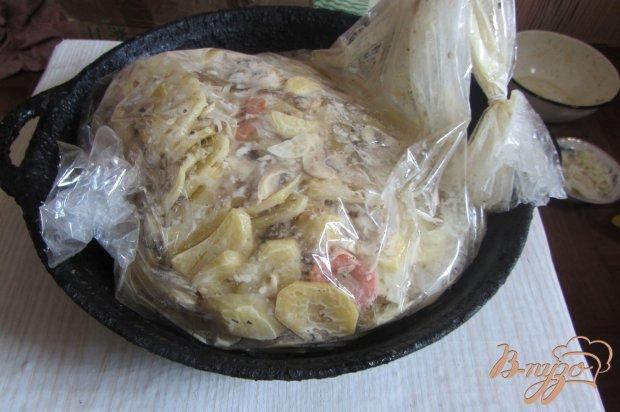 Картофель запеченный в рукаве на водяной бане