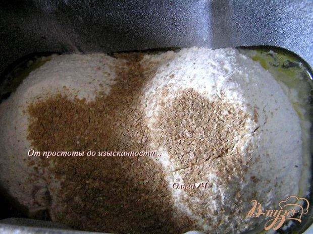 Хлеб на картофельном отваре с овсяными отрубями