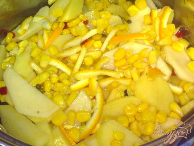 Картофель в апельсиновом соке