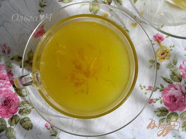 Апельсиновый кисель с лимоном