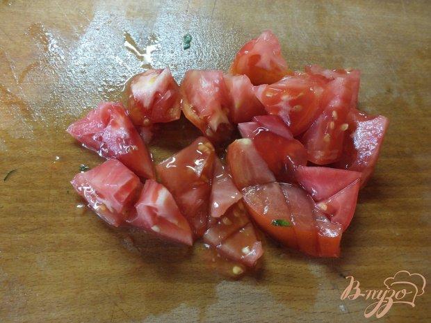 Салат из печеных баклажанов с молодым щавелем
