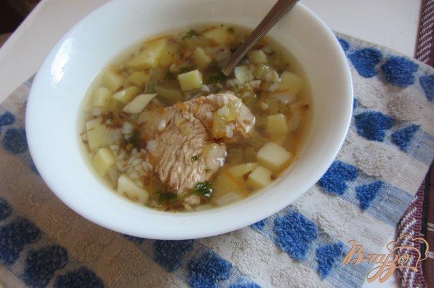 Гречневый суп на индейки без зажарки