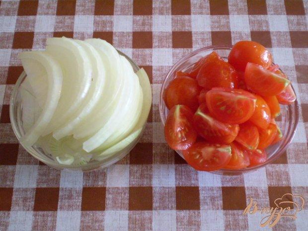 Рожки в томатной подливе с горьким перцем