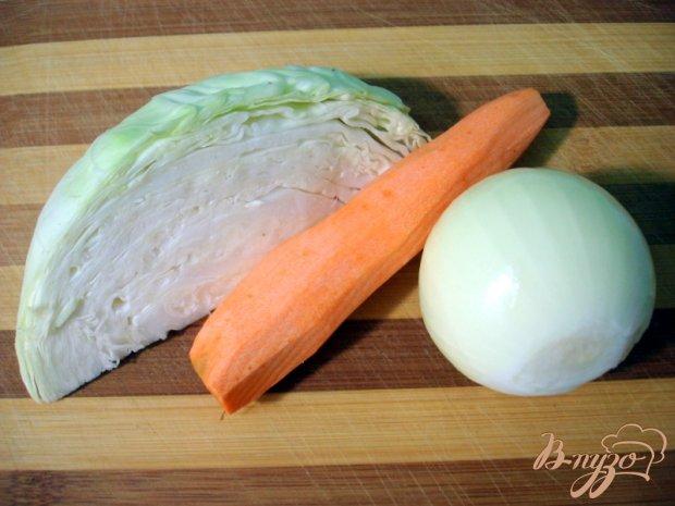Биточки с овощами и рисом