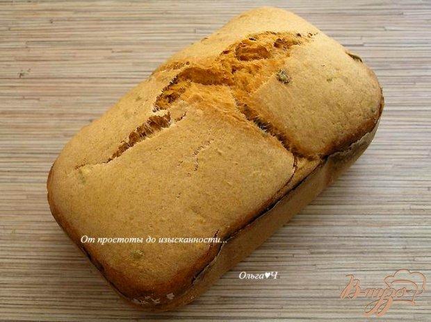 Томатный хлеб с маслинами и овсяными отрубями