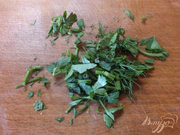 Цветная капуста запеченная с болгарским перцем и зеленью