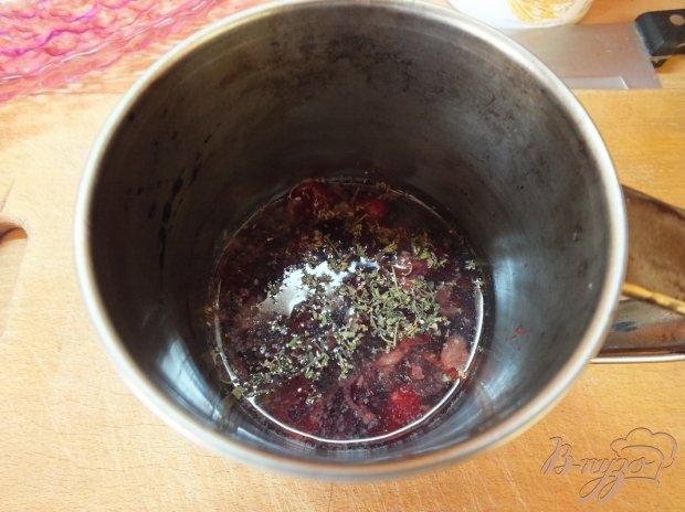 Соус-закуска к красному мясу из кизила