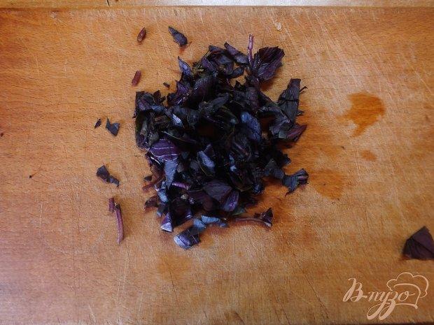 Тефтели тушеные в базиликово-томатной подливе