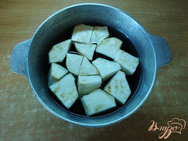 Летний крем-суп из сельдерея