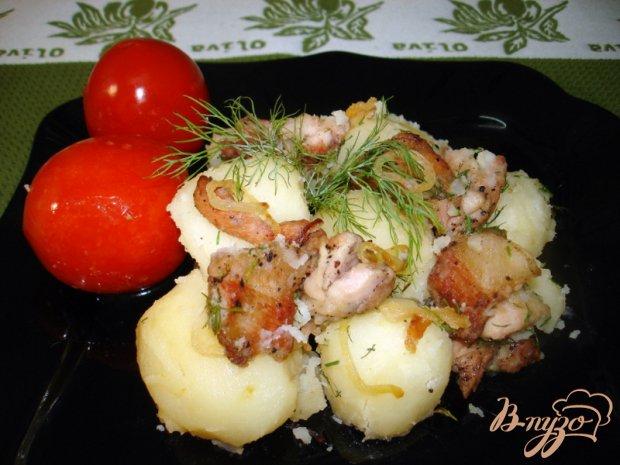 Картофель с поджаркой