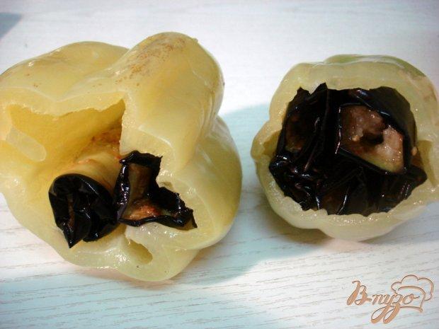 Заготовка перца с баклажанами