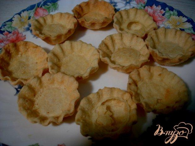 Тарталетки с грибной начинкой