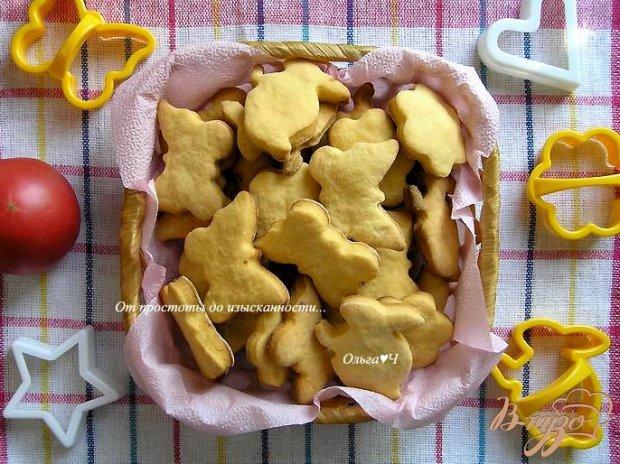 Сладкое томатное печенье