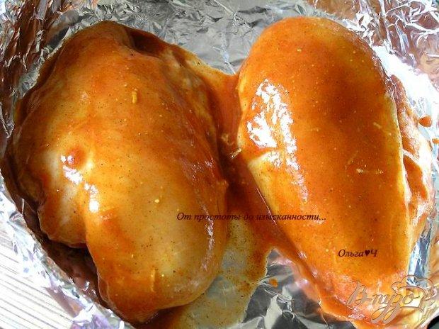 Курица в томатном маринаде по-мароккански