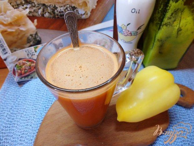 Острый овощной фрэш с зеленью