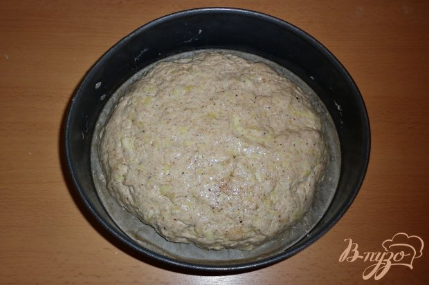 Хлеб с цуккини и луком