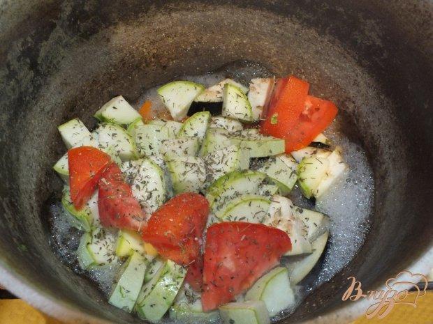 Диетическое овощное рагу с ароматными травами