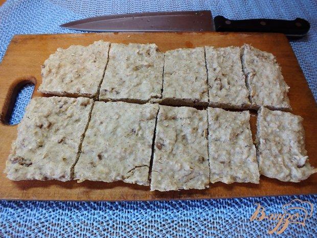 Овсяные хлебцы с грецкими орехами