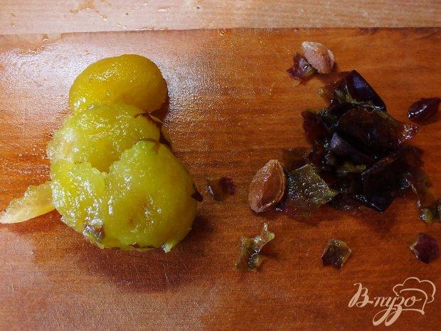 Сливово-виноградный щербет с имбирем