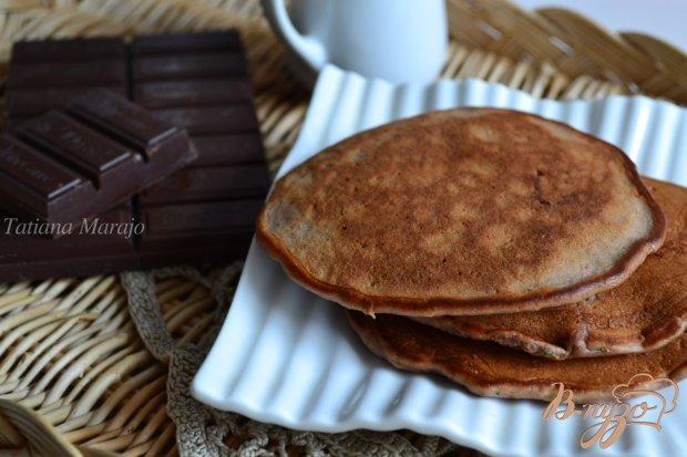 Шоколадные оладьи с цукини