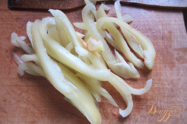 Спаржевая фасоль тушенная с овощами и орегано