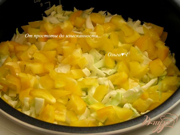 Овощное рагу (в мультиварке)