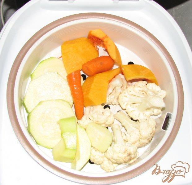 Овощи на пару – детское питание