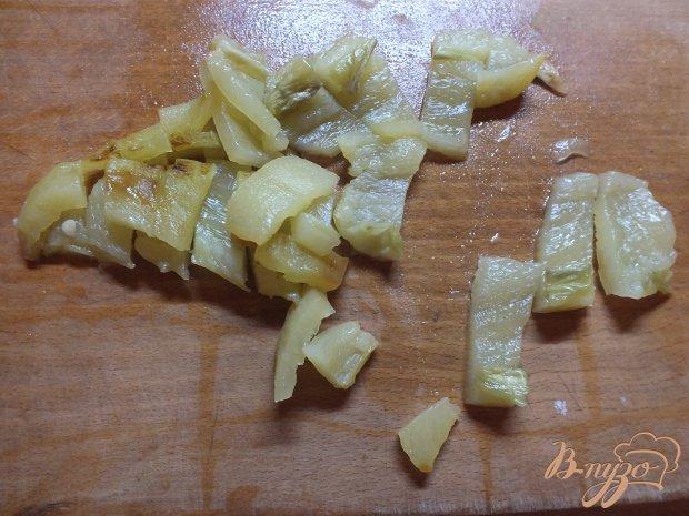 Салат мясной с макаронами