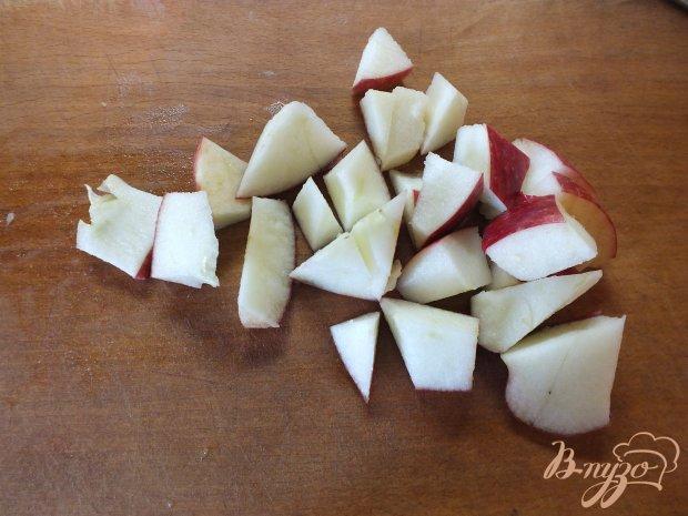 Яблочно-виноградный пирог