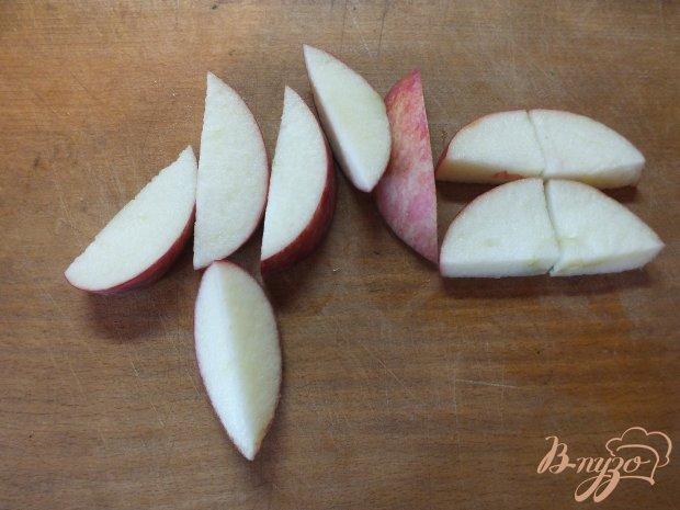 Куриные сердца с фруктами