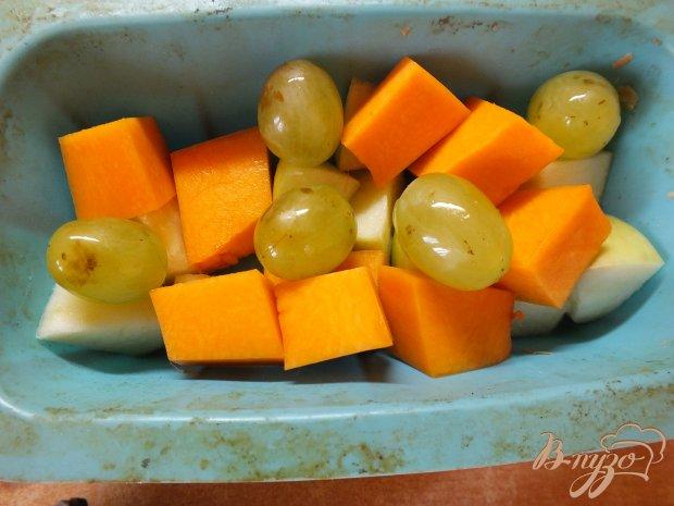 Теплый салат с медой