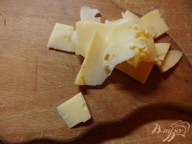 Синие с  овощами под сыром