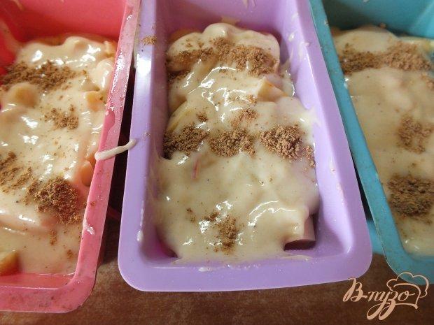Кексы с сыром и яблоками