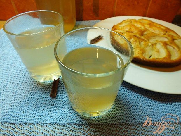 Имбирно-анисовый компот из груш и яблок