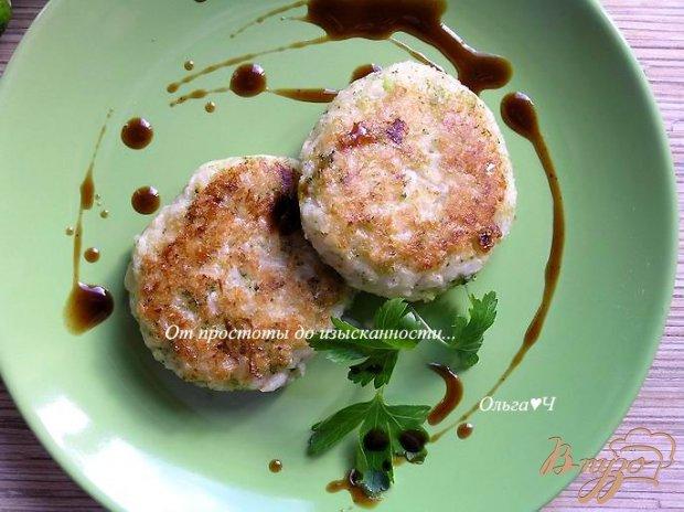 Рисовые котлетки с брокколи