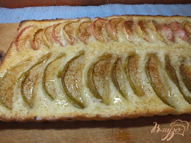 Открытый ялочно-грушевый пирог-печенье