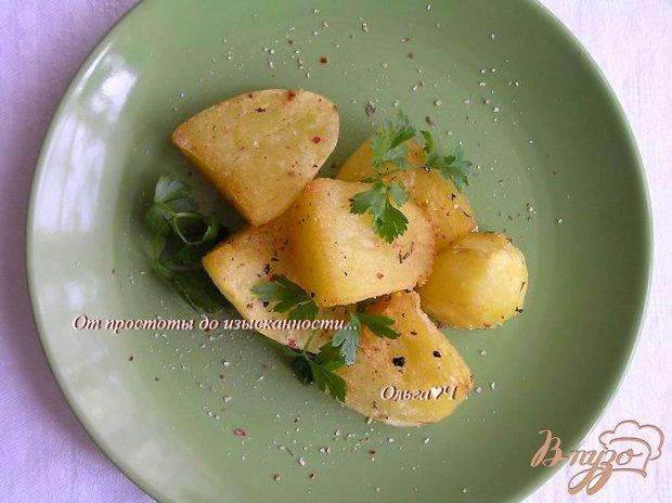Картофель с итальянскими травами