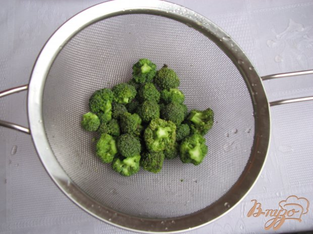Куринный суп с брокколи