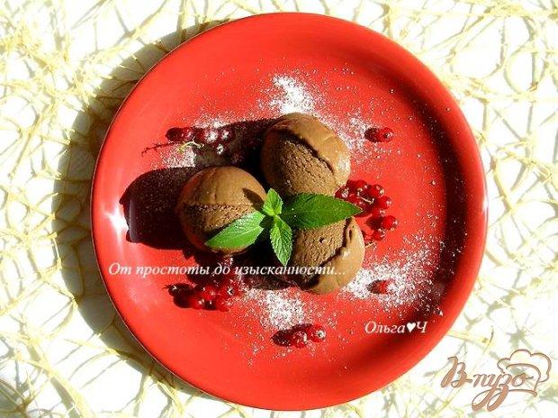 Шоколадно-лимонное мороженое