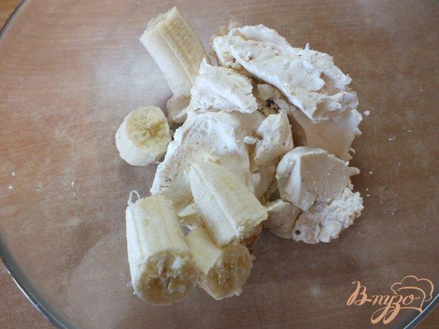 Эклеры с творожно-банановым кремом