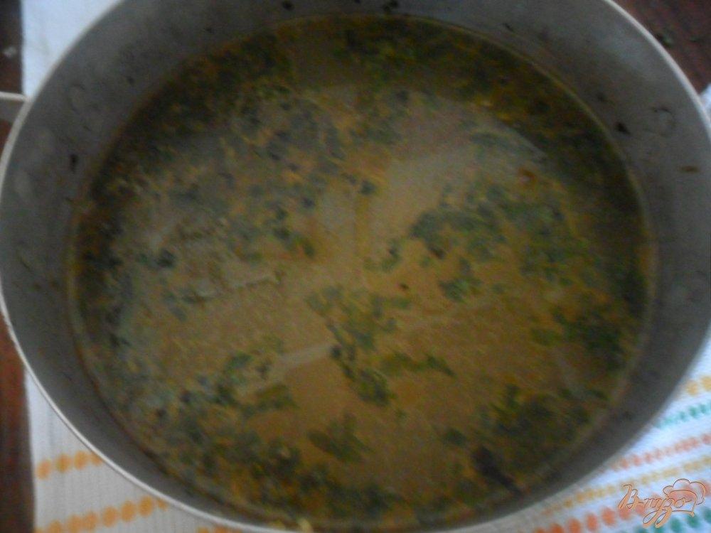 Фото приготовление рецепта: Пельменный суп шаг №6