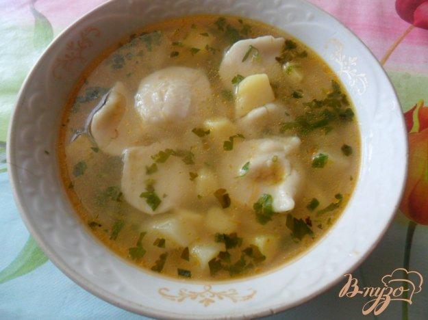Рецепт Пельменный суп