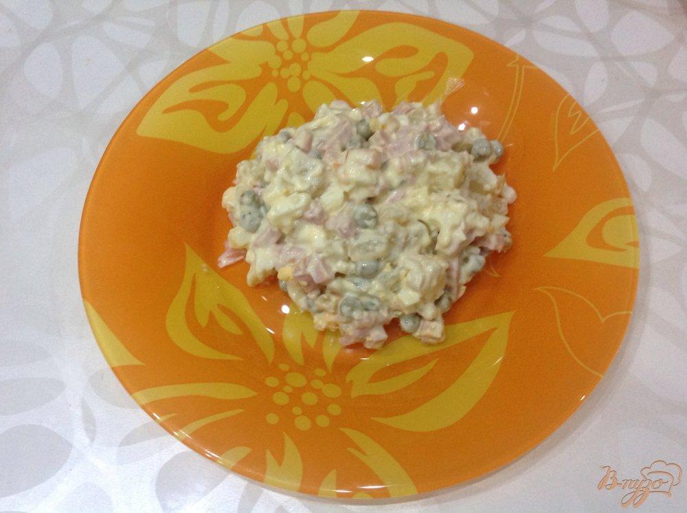 Фото приготовление рецепта: Оливье шаг №3