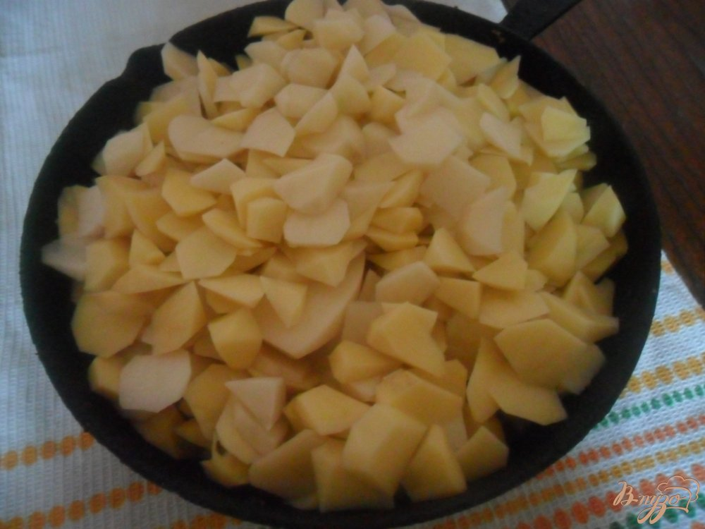 молодой картофель с мясом запеченный в духовке рецепт